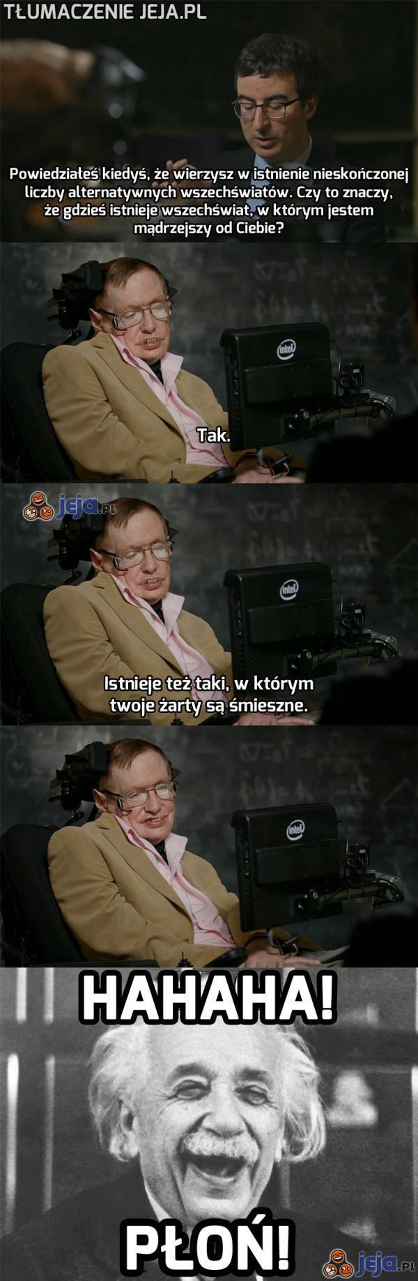 Stephen Hawking - wzór pozytywnego podejścia