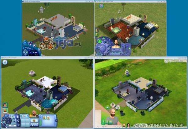 Ewolucja w Simsach