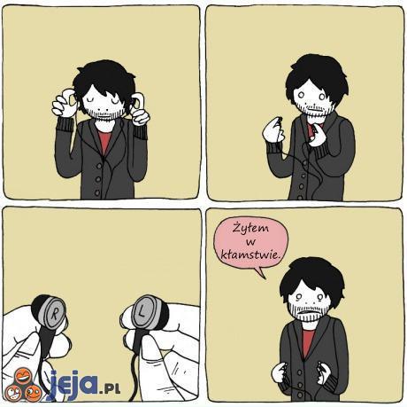 Pomylone słuchawki
