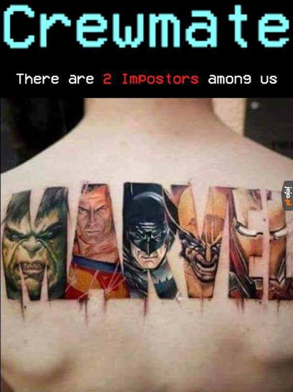 Widać tatuażysta nigdy nie oglądał, albo jest trollem