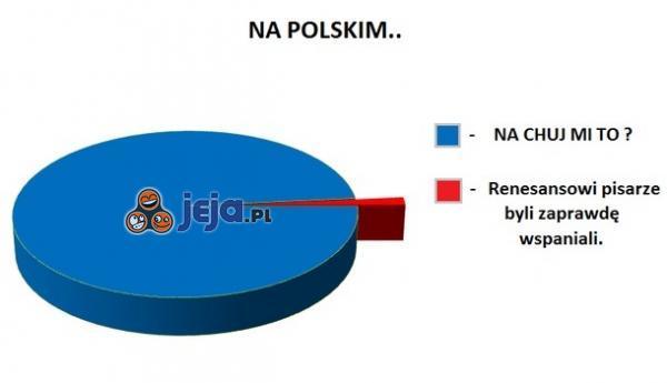 Na polskim