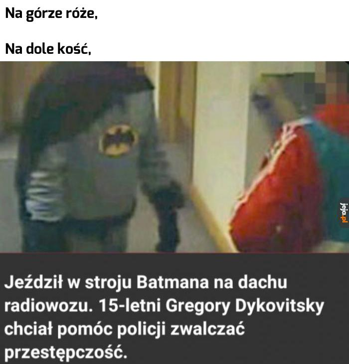 Jestem Batman