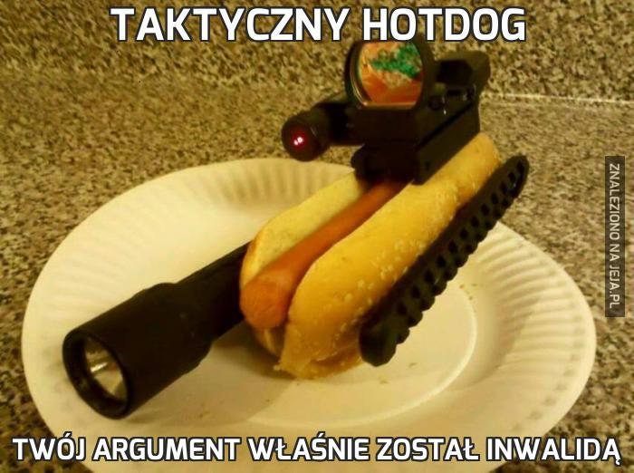 Taktyczny hotdog
