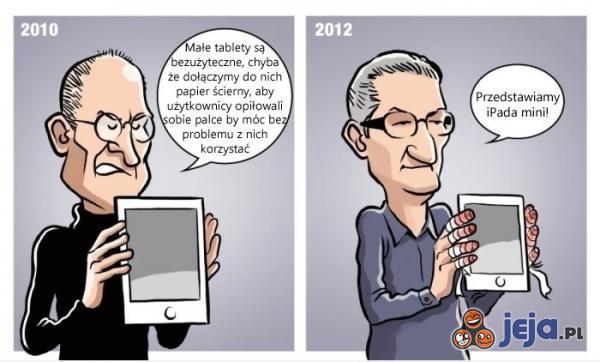 Apple o tabletach