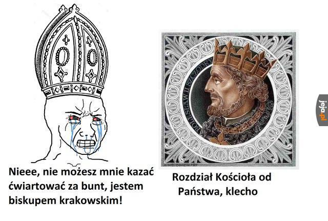 Relacje Polski z kościołem bywały różne