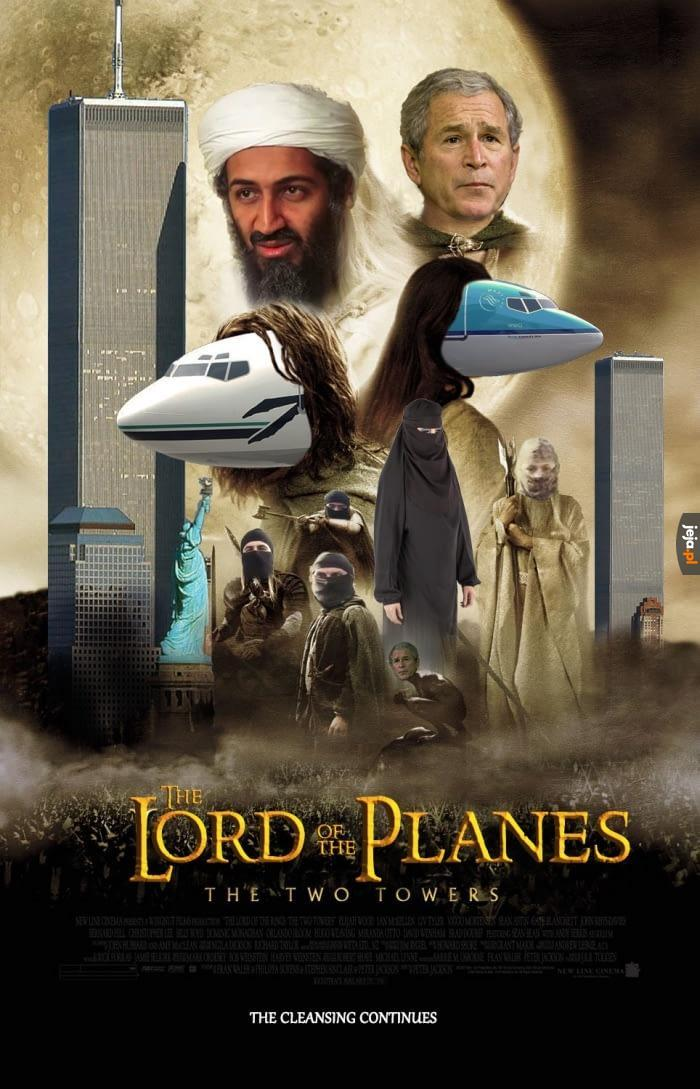 Władca Samolotów: Dwie wieże