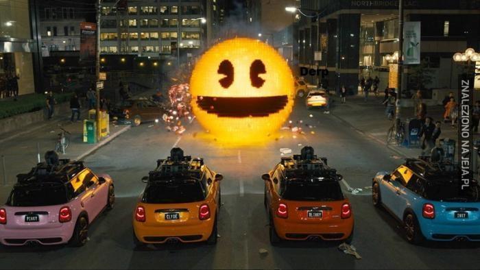 Pacman nadchodzi!