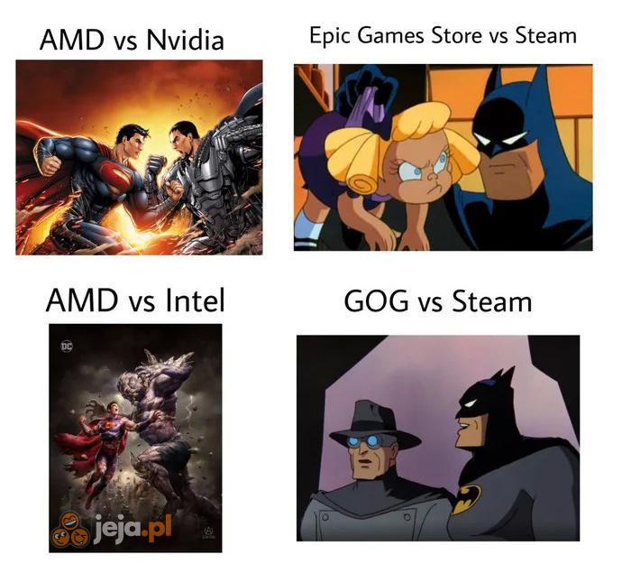 Odwieczne walki w branży gier