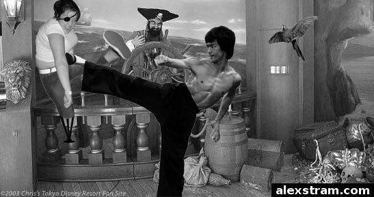 Mosh  Girl vs Bruce Lee