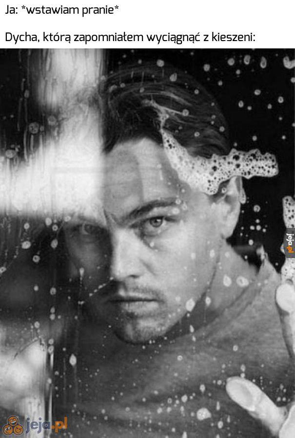 Zmoczy się jak DiCaprio w Titanicu