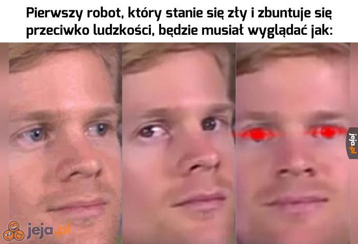 Czerwone oczy to pewniak
