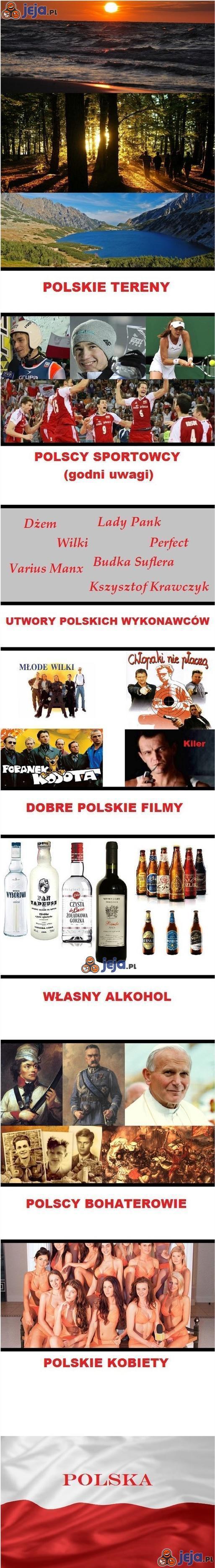 Polska - bez polityki to piękny kraj