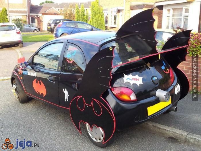 Batmobil, na który mnie stać