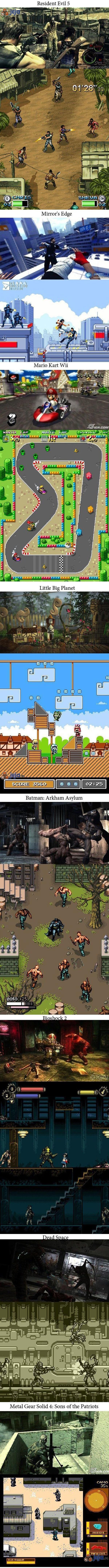 Gdyby współczesne gry były zrobione w starym stylu
