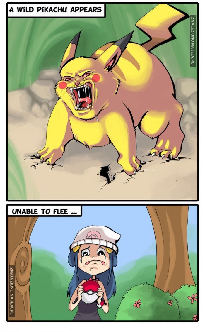 Dziki Pikachu!