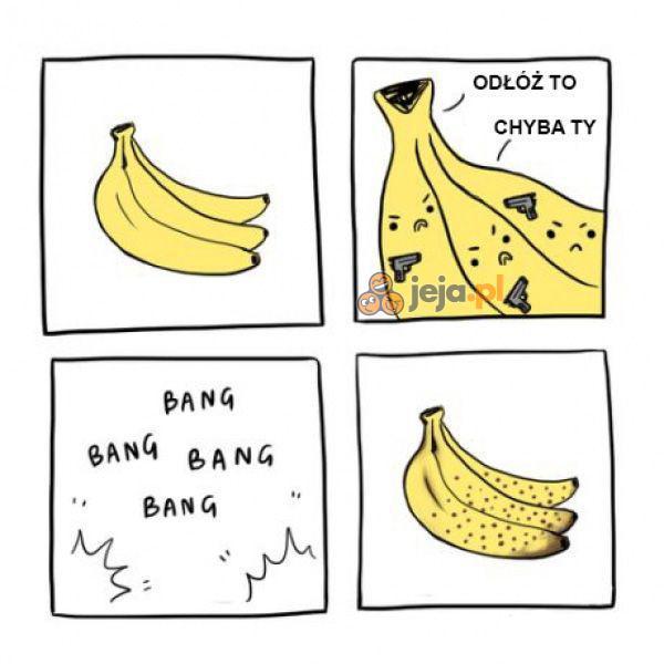 Skąd się biorą kropki na bananach