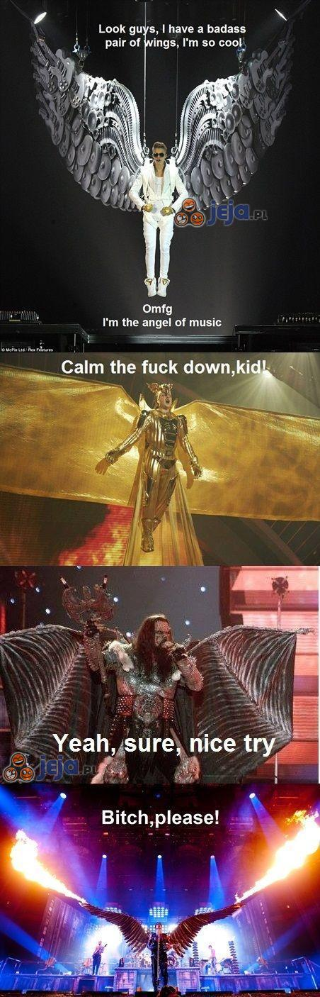 Użyj skrzydeł i spieprzaj z tej planety!