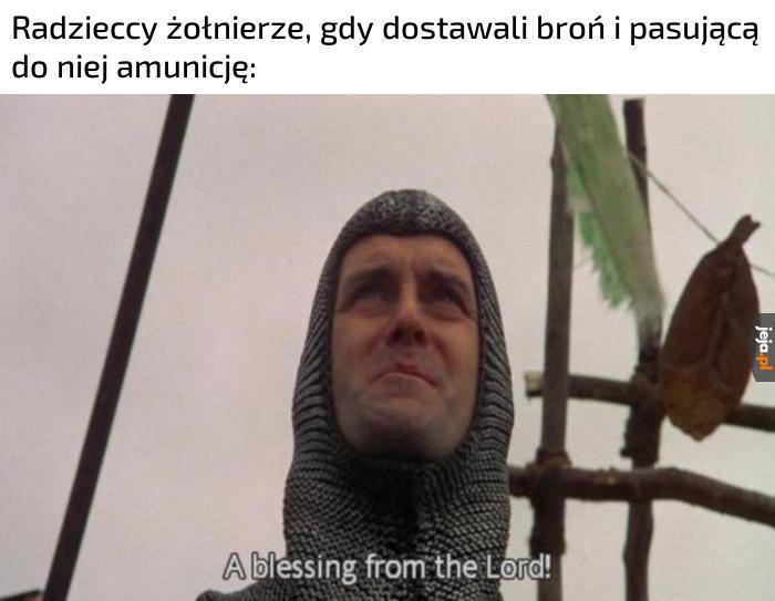 Ale super, nie muszę rzucać we wroga kamieniami