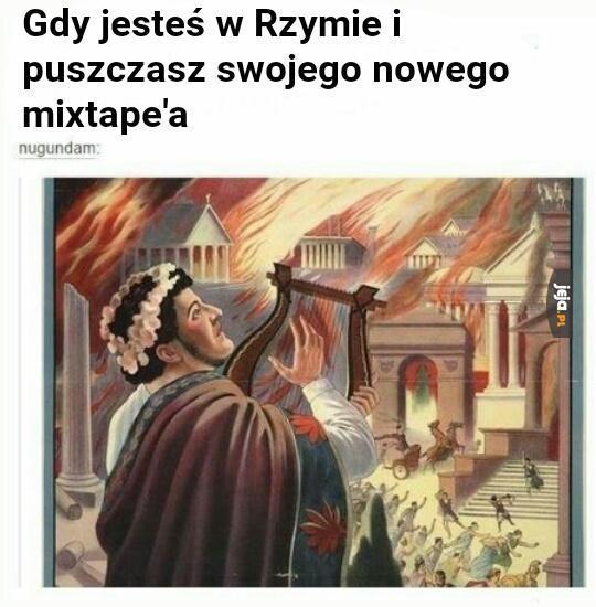 Płonie Rzym