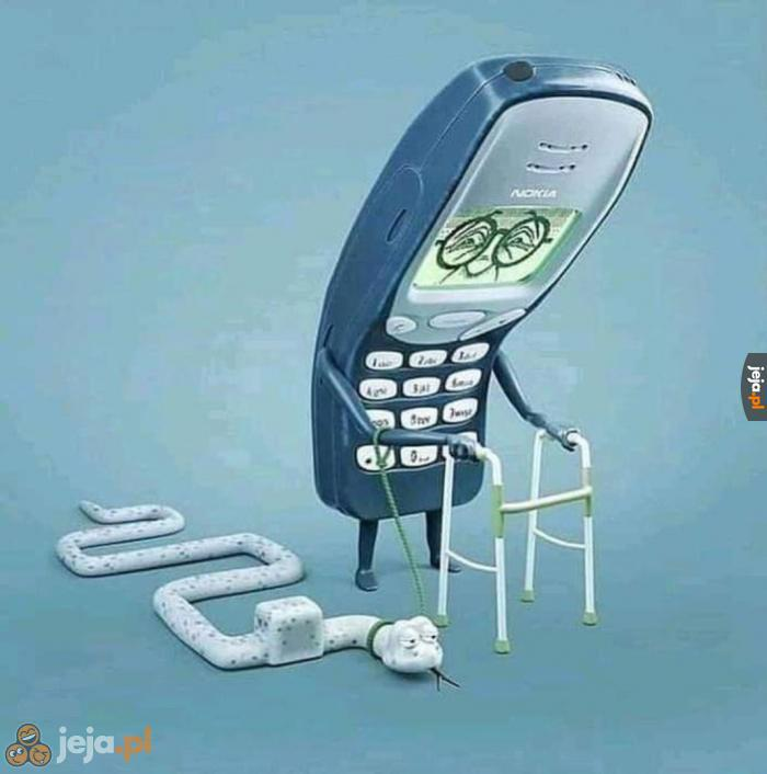 Stara dobra Nokia i najlepsza gra na świecie