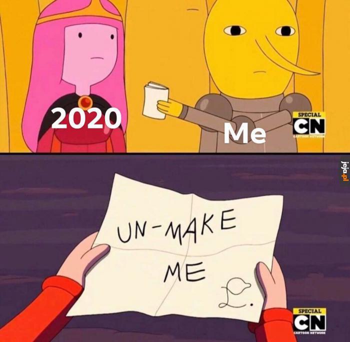 Już nie chcemy
