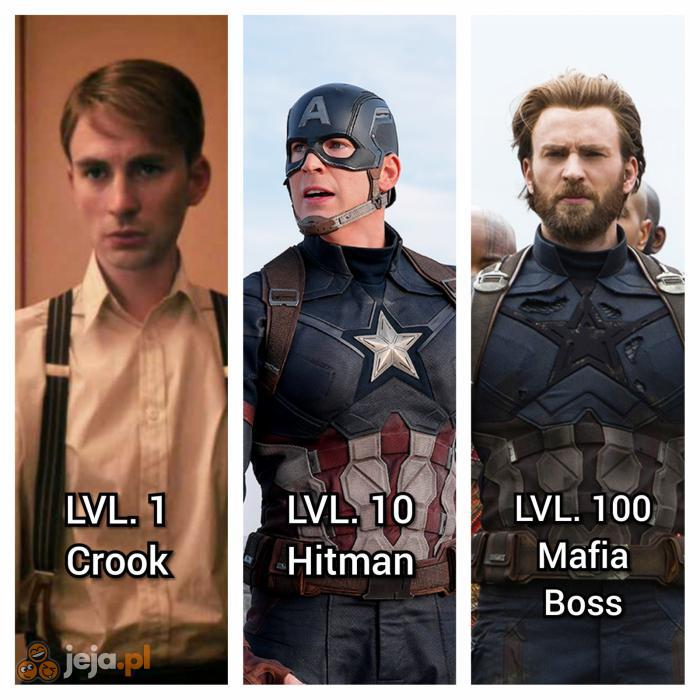 That's how Avengers works.