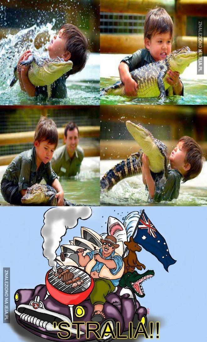 Lekcja biologii w Australii