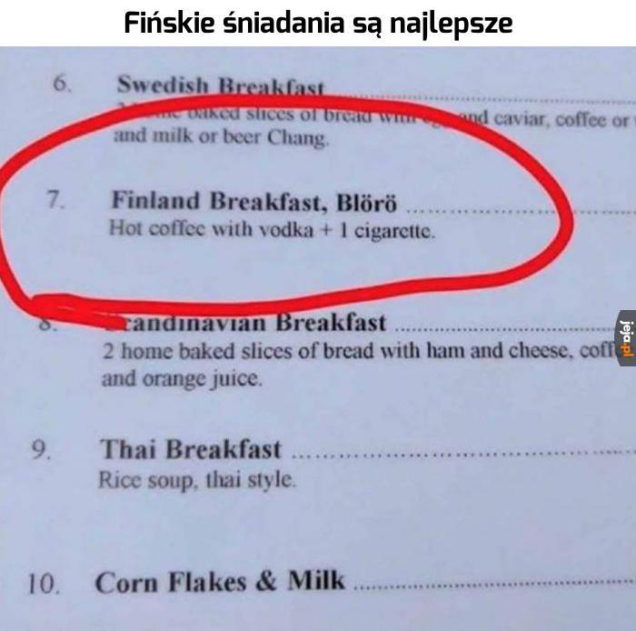 Najlepsze śniadanie ever