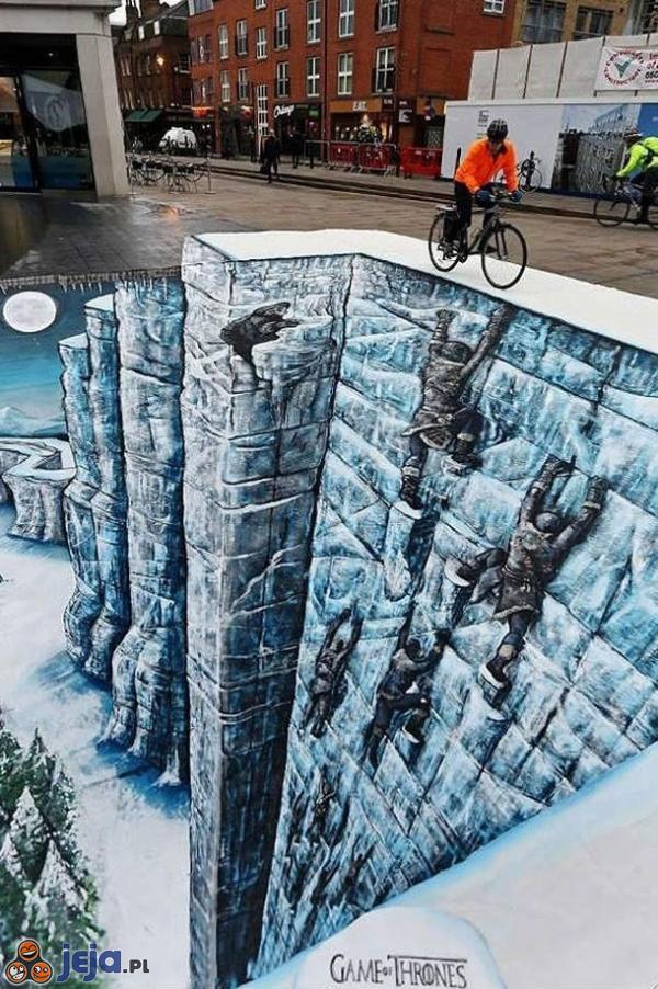 Iluzja na chodniku: Gra o tron
