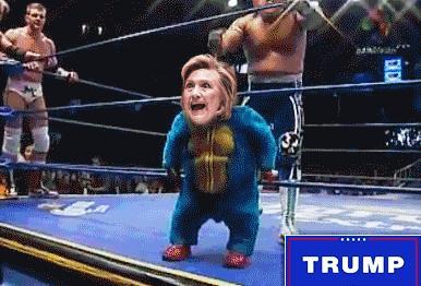 Trump vs Clinton: Nokaut