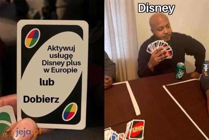 Jeszcze tylko maksymalnie dwa lata i będziemy mogli korzystać z Disney plus