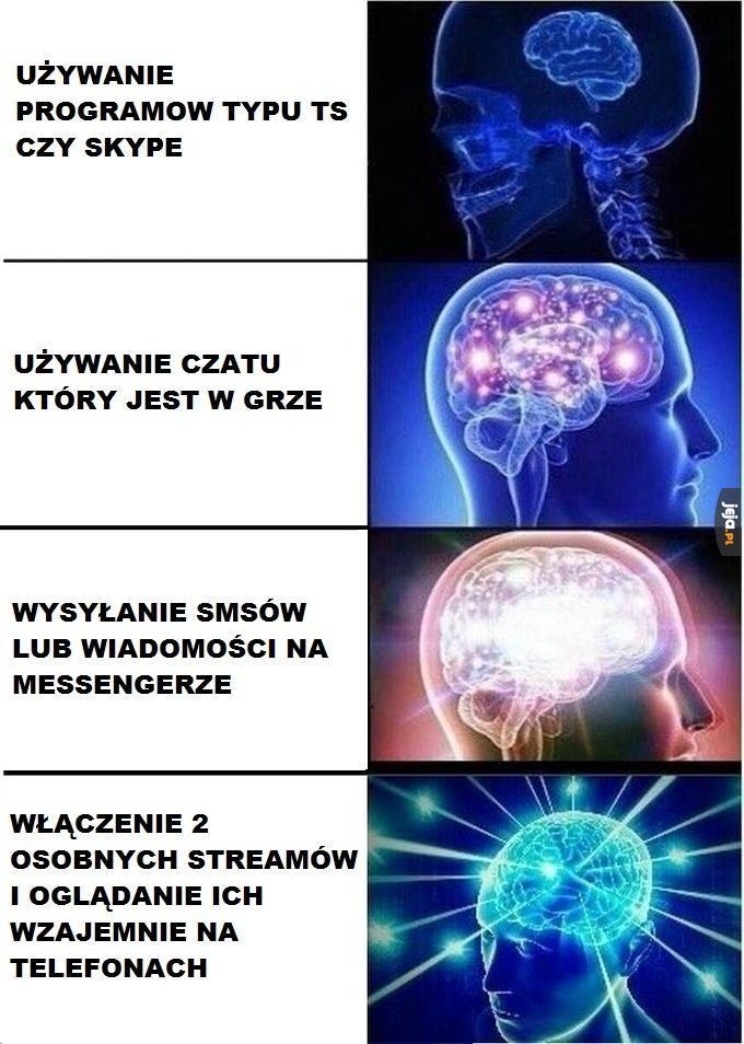 Komunikacja podczas gry
