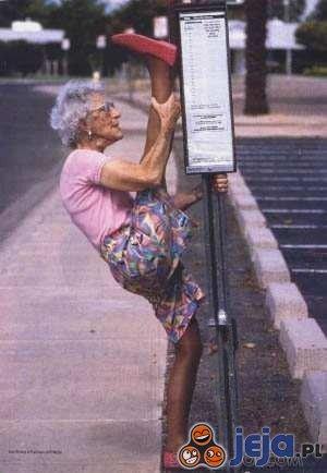 Sprawna babcia