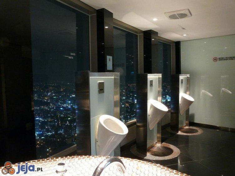 Toaleta z widokiem
