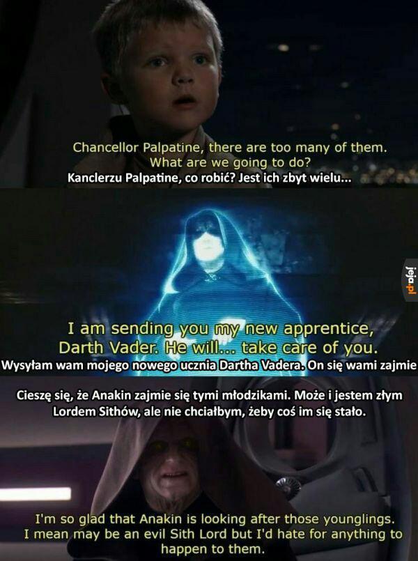 Chyba Vader coś źle zrozumiał