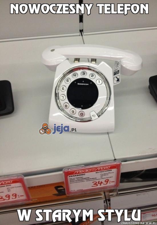 Nowoczesny telefon