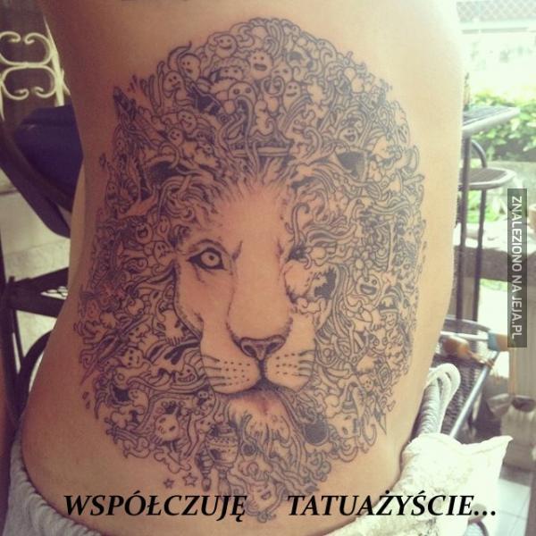 Współczuję tatuażyście