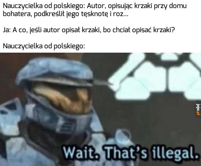 Nauczyciele polskiego przy omawianiu lektur