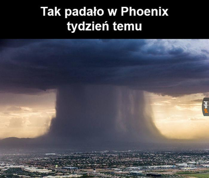 A w Gdańsku od dwóch dni pada...