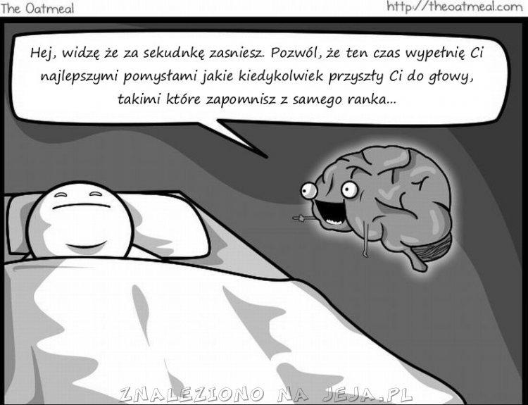 Wredny mózg: sny