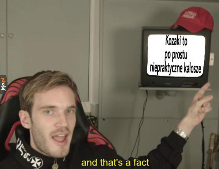 On ma rację