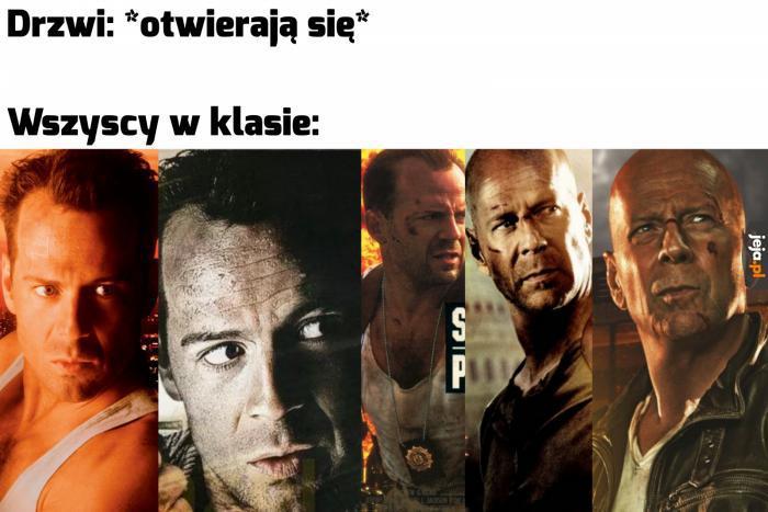 Klasa to Bruce Willis