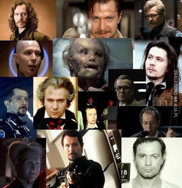 Gary Oldman - aktor o wielu twarzach