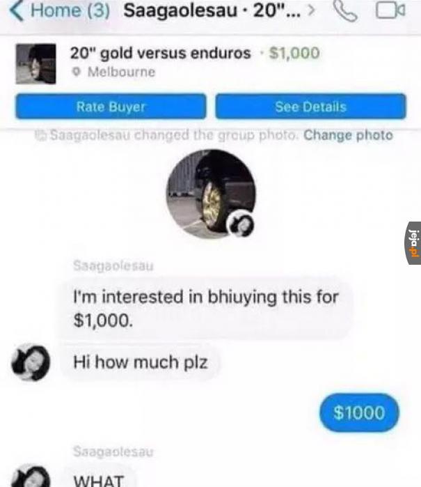 No a za ile chciała?