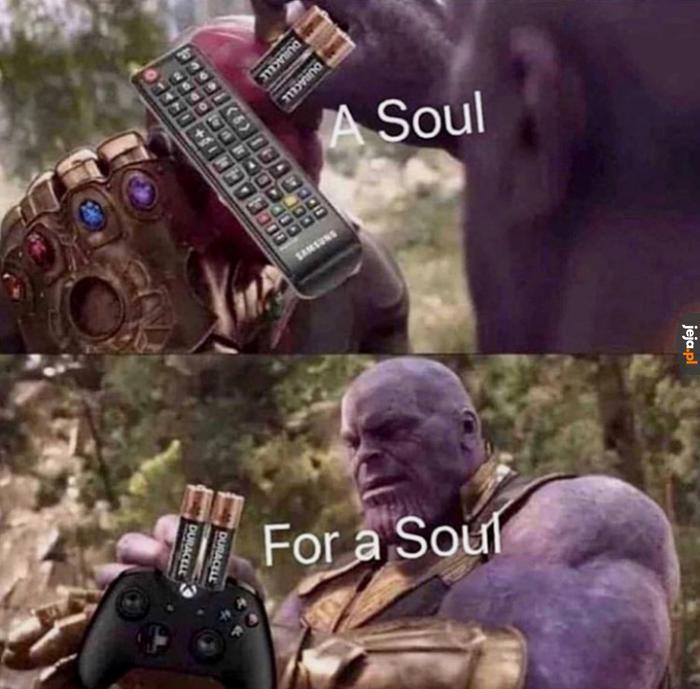 Dusza za duszę