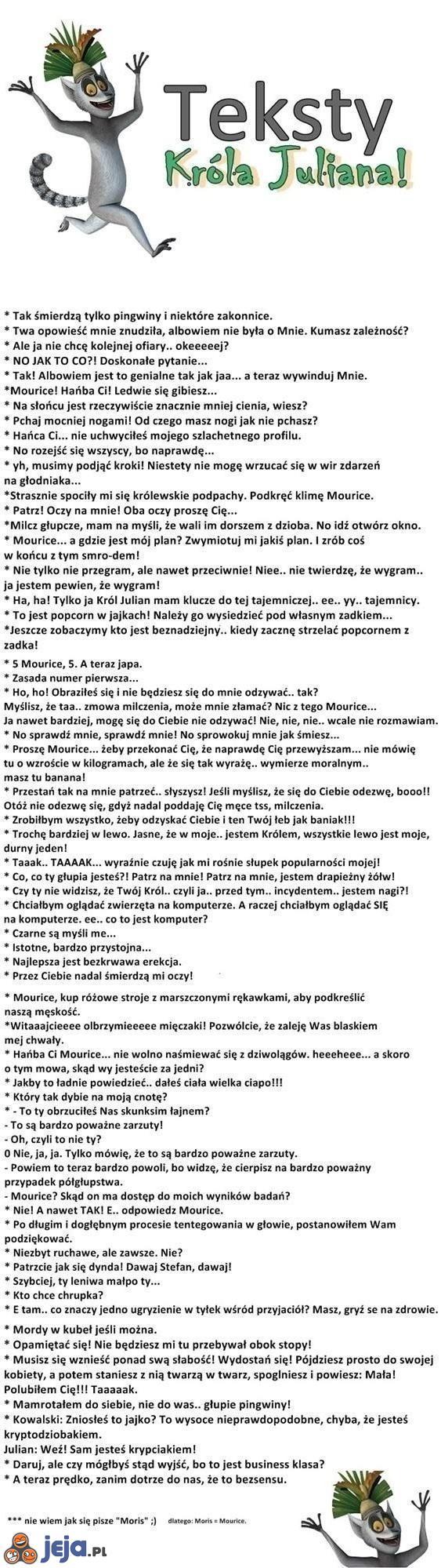 Teksty króla Juliana