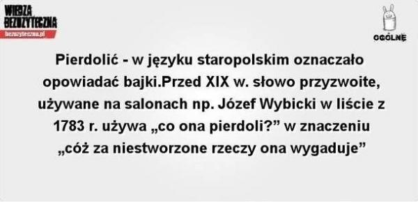 Piękny język staropolski