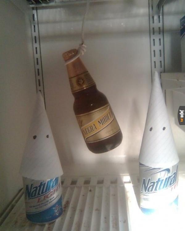 Piwo takie rasistowskie