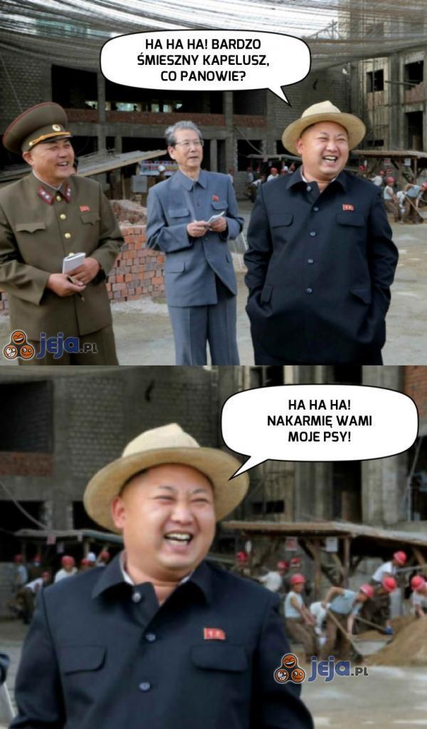 Z Kimem nie ma żartów...