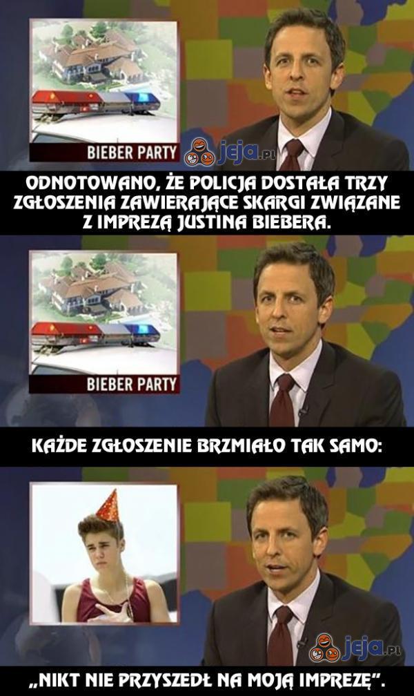 Impreza u Justina